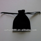 Black Velvet Pouch Bags
