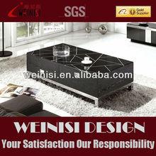 Modern living room furniture, good quality glass veneer coffee table 807