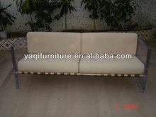 comfortable long acrylic sofa