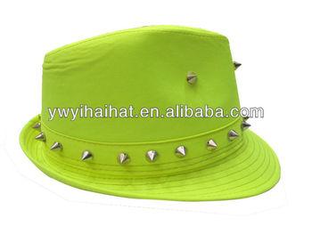 Wholesale Felt Rivet Fedora Hat 0143