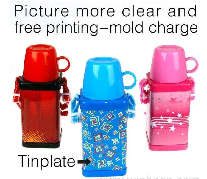 พลาสติกและโลหะขวดเด็กสำหรับตลาดกลางตะวันออก