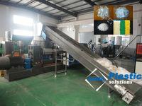agglomerator PE film pelletizing machine