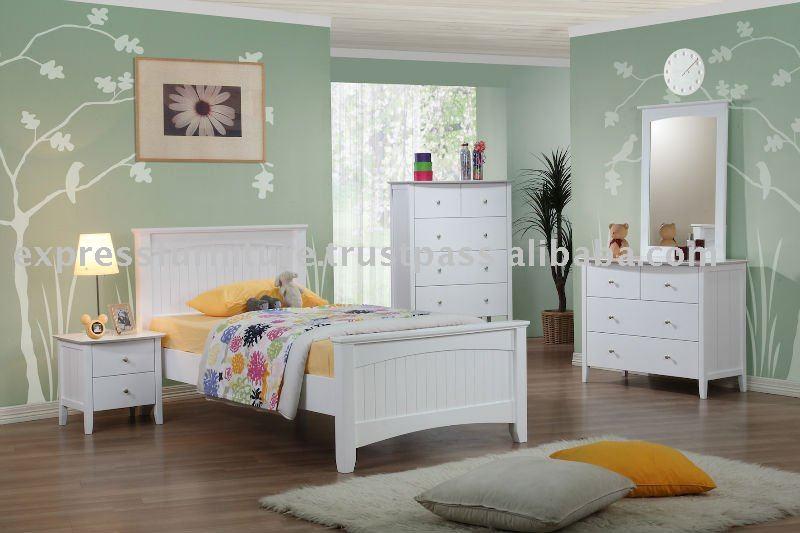 Blanco muebles de dormitorio conjuntos de muebles para - Dormitorio con muebles blancos ...