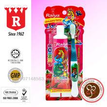 RAIYA Junior Toothpaste (Strawberry Flavour) with Toothbrush