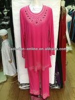 NY158 Four colors kaftan 2013 islamic clothing modest abaya