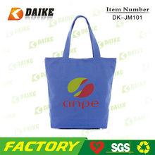 Promotional Custom Canvas Plain Recycle Bag DK-JM101
