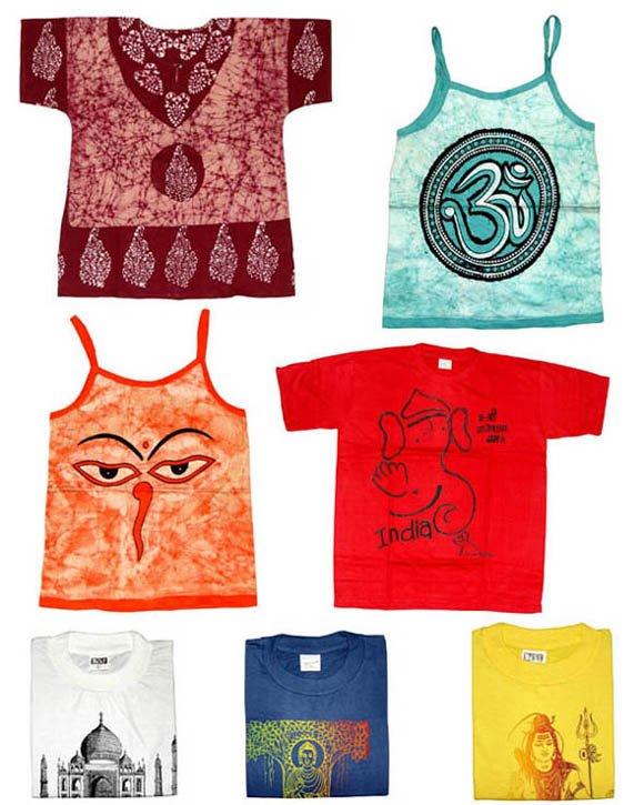 Hand Printed t Shirts