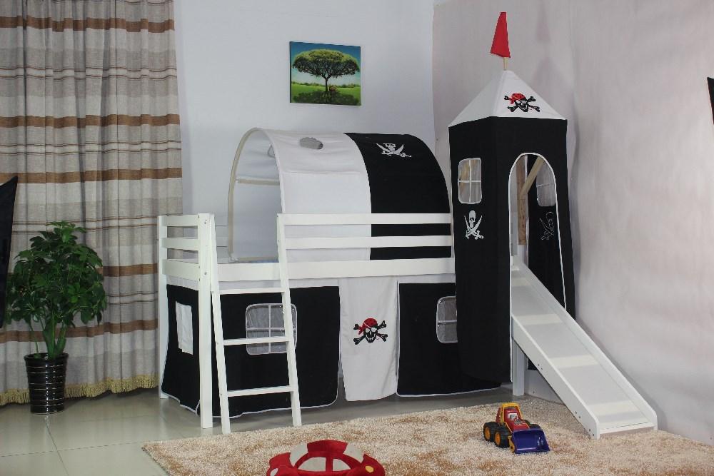 piraten zelt mit tunnel f r kinder bett bett produkt id. Black Bedroom Furniture Sets. Home Design Ideas