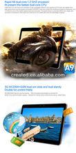 MTK8377 ultra slim 10inch 3G phone calling tablet 3G/GPS/ATV/FM(x10)