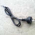 Australian 2 Flat Pin Power Plug H05VV-F VDE Electrical Cord