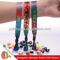 la promoción de la venta caliente de la mano de punto pulsera de cuerda católica del festival pulsera de tela