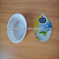 Papel de aluminio tapas para yogur