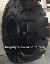 high quality forklift solid tyre 17.5-25 big loader tire