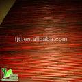parede de bambu decorativo fenceing