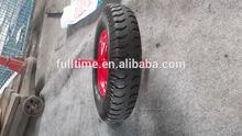 Pattern lug wheelbarrow air wheels 4.00-8