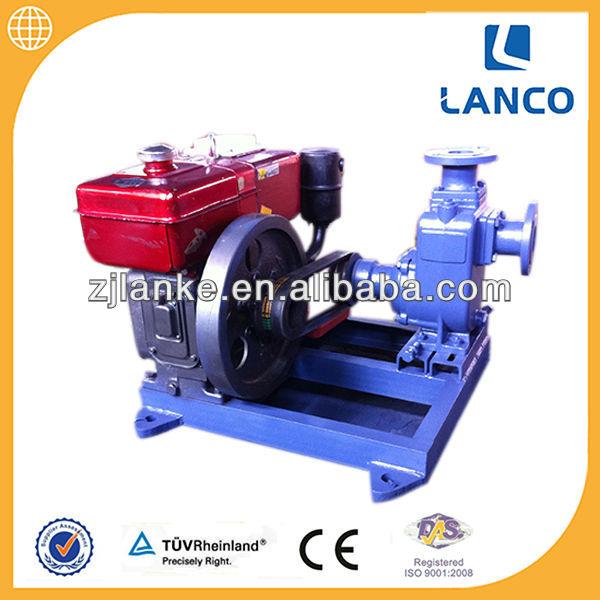 Direct Factory Belt Driven Diesel Engine Water Pump View