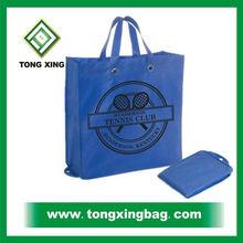 Royal blue Folding Non woven grocery bag