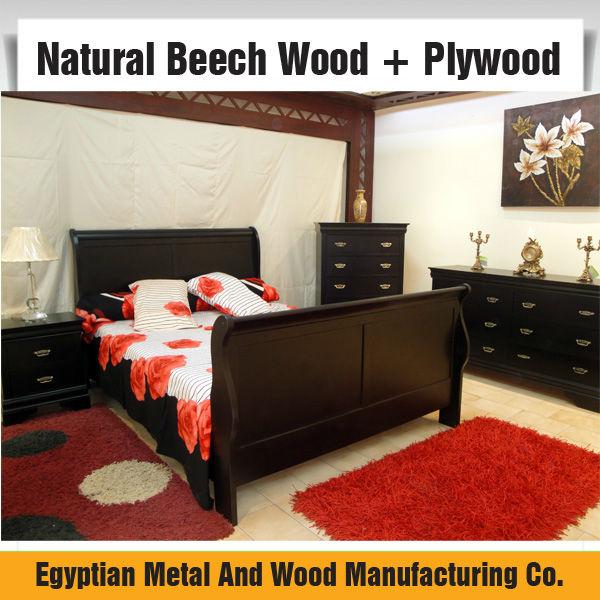 Chambre A Coucher En Bois Hetre : Solid Wood Bedroom Sets