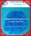 solide sec teint dans la masse de couleur fibre polyester vierge