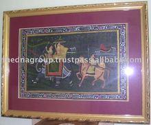 Indian Canvas Paintings/Portrait Oil Paintings-C