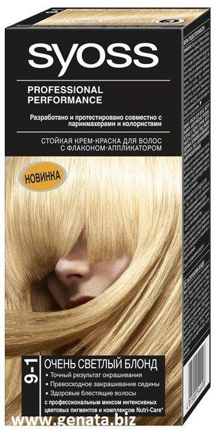 Syoss tintura de cabelo