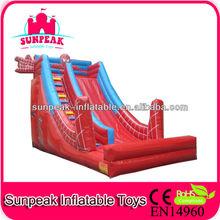 Spiderman Inflatable Slide