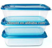 Lightweight plastic lunch box mold
