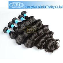 Wholesale human natural colour brazilain remy hair