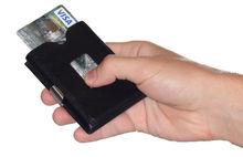 triHOLD Wallet Black Napa Leather
