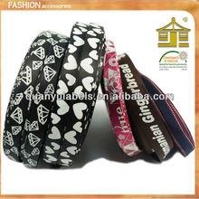 Grosgrain/satin Printed Ribbon /Dots Printed Ribbon