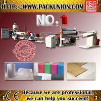 pe foaming sheet plastic extrusion line