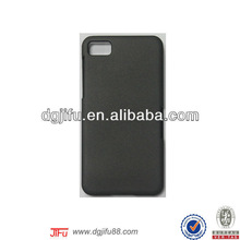 for Blackberry Z10 metallics rubber mobile phone case