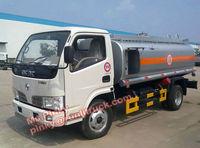 Small 5cbm Light Diesel Truck Fuel Oil Bowser Tanker Truck Call 0086 15897603919