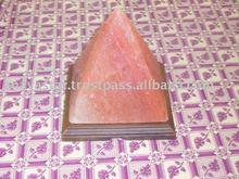 Lampade di sale naturale/cristallo di sale himalayano/rock sale a piramide