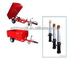 welded jack hoist hydraulic cylinder Sinotruck spare parts