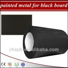 prepainted metal for black writing board