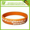 Amazing Custom Logo Silicone Wristband With Good Quality