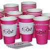 Single Wall Hot Paper Cups 16oz