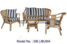 Rattan Set, Rattan Sofa, Modern Rattan Set Malaysia