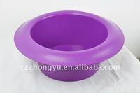 Plastic bucket and plastic bowls