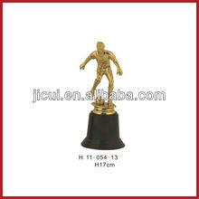 Plástico barato troféus plastic troféu copa de plastic troféu