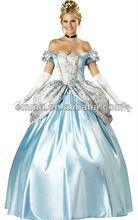 Adult carnival Cinderella Princess Fairytale Deluxe Gown Women Costume carnival costume cinderellaCC406