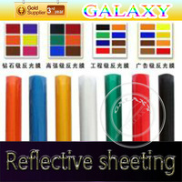 advertising grade heat reflective sticker Optional multi-color 1.24x45.7m