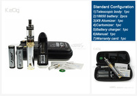 alibaba China Healthy and portable electronic cigarette variable voltage Lava Tube starter kit