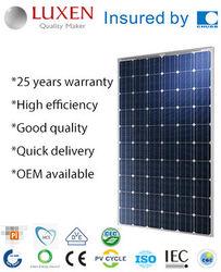 230W mono pv solar panel