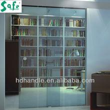 Modern design glass door hardware sliding door system for office hotel house SA8600H