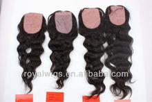 human hair Brailian hair silk top closure hair pieces