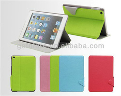 Factory supply , custom PU leather case for mini ipad