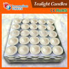 Candle factory paraffin wax scented tealight candles