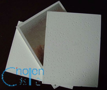 vinyl faced gypsum ceiling tile/pvc gypsum ceiling